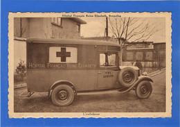 BELGIQUE - BRUXELLES Hôpital Français Reine Elisabeth, L'Ambulance (voir Descriptif) - Salute, Ospedali