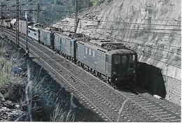 Triplette De BB 4600  Locomotive Electrique - Ligne Limoge-Montauban ,Avril 1981- Carte Non Postée état Irréprochable - Trains