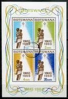 Botswana Mi# Block 2 Gestempelt/used - Christmas - Botswana (1966-...)