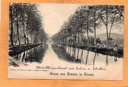Saverne  Zabern France 1900 Postcard - Saverne