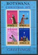 Botswana Mi# Block 5 Gestempelt/used - Christmas - Botswana (1966-...)