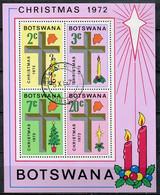 Botswana Mi# Block 7 Gestempelt/used - Christmas - Botswana (1966-...)