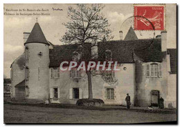 St Benoit De Sault - Chateau De Sacierges Saint Martin CPA - Non Classés