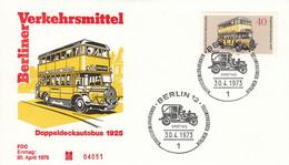 FDC GERMANY Berlin 450 - Bus