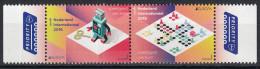 Nederland - Europapostzegels: Speelgoed Van Toen - Tinnen Robot - Mens-erger-je-niet - MNH - NVPH 3285-3286 - 2015