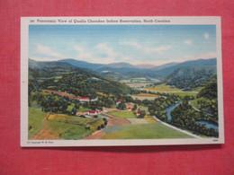 Panoramic View Qualla Cherokee Indian Reservation North Carolina    Ref 4410 - Native Americans