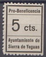 SIERRA DE YEGUAS - MALAGA - Viñetas De La Guerra Civil