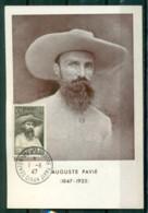 CM-Carte Maximum Card # France-1947 # (Yv.N° 784)  Auguste Pavie, Explorateur ,colonisateur Du Laos, Obl. Dinan 1.6.47 - 1940-49