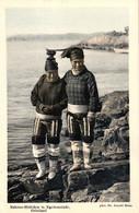 Grönland, Eskimo-Mädchen In Egedesminde, Phot. Dr. Arnold Heim - Groenlandia