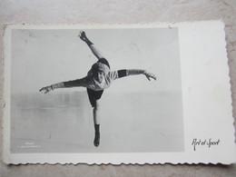 CPA  ART ET SPORT - Figure Skating