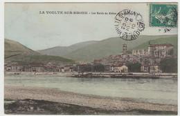 LA VOULTE SUR RHONE - Les Bords Du Rhône Et Le Château - La Voulte-sur-Rhône