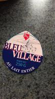 """Couvercle Bte Fromage  -  """" Bleu Village """" - Dosen"""