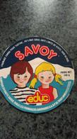 """Etiquette Fromage  CARTONNEE -   """" SAVOY"""" éduc 40 %MAT G - Dosen"""