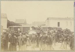 Pèlerinage Aux Saintes-Maries-de-la-Mer. Roulottes. Camargue. Gitans. 1909. Album De L'historien Gérard De Beauregard. - Luoghi