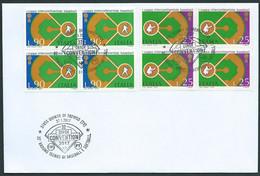 """Italia, Italy, Italien 2017; """"32° Raduno Tecnici Di Baseball E Softball"""", Serie Completa In Quartine: Stamps Of 1973. - Baseball"""
