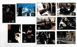 X856 - SERIE COMPLETE 10 CARTES TOPPS - BATMAN - Sonstige