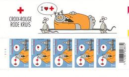 B01-192 3747- BD Feuillet Planche N°1 Le Chat Philippe Geluck De Kat Croix-Rouge 9.5€ - Foglietti