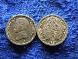 SPAIN 50 CENTIMOS 1910(10) KM730, 1926 KM741 - First Minting