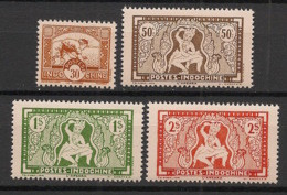 Indochine - 1943 - N°Yv. 232 à 235 - Série Complète - Neuf Luxe ** / MNH / Postfrisch - Neufs
