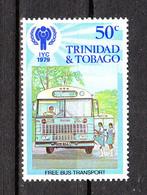 Trinidad &Tobago -1979. Bus Scolastico. School Bus. MNH - Bus