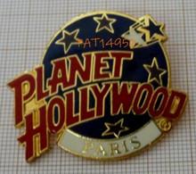 BROCHE RESTAURANT PLANET HOLLYWOOD PARIS CINEMA - Kino