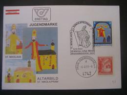 Österreich- St. Nikola/Pram 6.12.1983 FDC Vom 11. Nikolaus-Sonderpostamt - 1981-90 Cartas