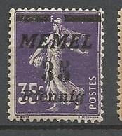 MEMEL  N° 65 NEUF**  SANS  CHARNIERE / MNH - Unused Stamps
