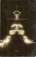 WARSHIPS BATTLE SHIP HMS RESOLUTION  ILLUMINATED WORLD WAR ONE NAVY NAVAL RP - Guerra
