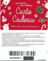 @+ Carte Cadeau - Gift Card :  DPAM - Rouge Noel - Code SVG1830536 - Frankreich