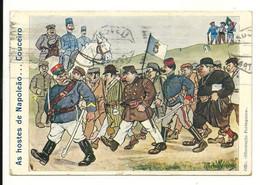 Militaria - Portugal - Humour - As Hostes De Napoleão...Couceiro - Non Classificati