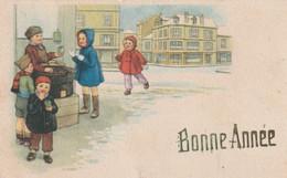 190 - MIGNONETTE MIGNONNETTE BONNE ANNEE GARCONS FILLETTES IMMEUBLE PAYSAGE ENNEIGE FOX 203/5 - Anno Nuovo