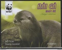 Vietnam (2016) - Booklet -  /  WWF - Endangered Fauna - Unused Stamps