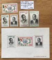 MALI 1961 Mi 21 / 25 + Bloc 1 - YT 13 / 14 + PA 9 / 11 + BF 1 MNH NEUF ONU UNO NATIONS UNIES  CV 17€ LUXE - Malí (1959-...)