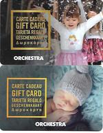 @+ Carte Cadeau - Gift Card : Lot De 2 Cartes Orchestra (France) - Frankreich