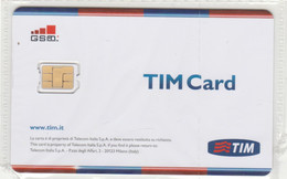 SIM CARD  TIM (E65.16.8 - [2] Sim Cards, Prepaid & Refills