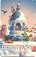 @+ Carte Cadeau - Gift Card : PRINTEMPS  - NOËL 2018. - Frankreich