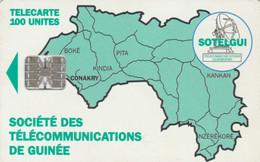 PHONE CARD GUINEA (E65.11.2 - Guinea