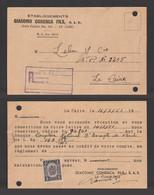 Egypt - 1951 - RARE - Receipt - GIACOMO COHENCA FILS Est. - Cairo - Egypt - Briefe U. Dokumente