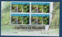 """Polynésie Coins Datés YT 684 """" Cascades """" Neuf** Du 5.3.2003 - Französisch-Polynesien"""
