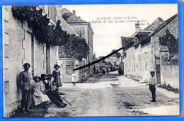 CPA 37 - MAILLÉ - Mairie Et Les Écoles Communales - Sonstige Gemeinden