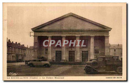 CPA La Roche Sur Yon Le Theatre Municipal - La Roche Sur Yon
