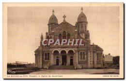 CPA La Roche Sur Yon Eglise Du Sacre Coeur - La Roche Sur Yon