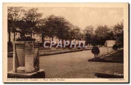 CPA La Roche Sur Yon Place Albert Premier - La Roche Sur Yon