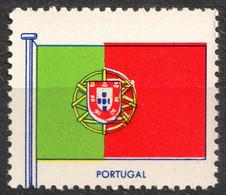 PORTUGAL Coat Of Arms - FLAG FLAGS Cinderella Label Vignette 1957 USA Henry Ellis Harris Philately Boston 1957 - Sin Clasificación