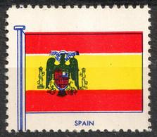 SPAIN Coat Of Arms - FLAG FLAGS Cinderella Label Vignette 1957 USA Henry Ellis Harris Philately Boston 1957 - Wohlfahrtsmarken