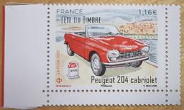 """2020 -  TIMBRE FETE DU TIMBRE - """"Peugeot 204 Cabriolet"""" - ISSU DU BLOC """"N7 ROUTE DES VACANCES"""" - NEUF ** - Used Stamps"""