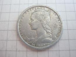 Madagascar 1 Franc 1948 - Madagascar