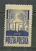 POLAND MNH ** 440 Libération De Lodz - Unused Stamps