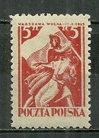 POLAND MNH ** 441 Libération De Varsovie - Unused Stamps