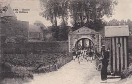 Entrée Du Chateau De Ham - Ham